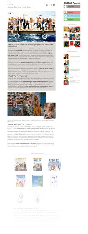 Diseño de revista digital santiago
